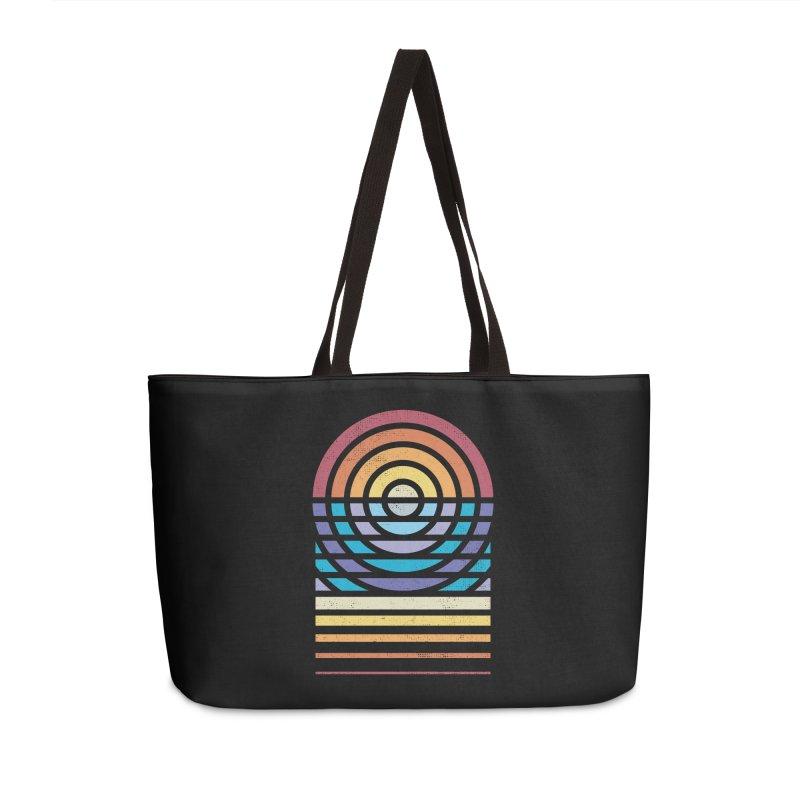 Sun Sea Sand Accessories Bag by heavyhand's Artist Shop