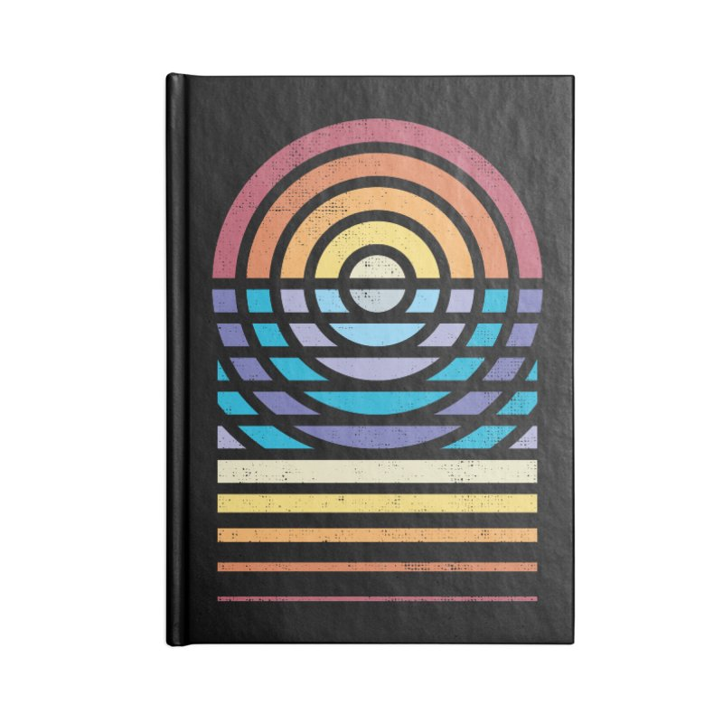 Sun Sea Sand Accessories Notebook by heavyhand's Artist Shop