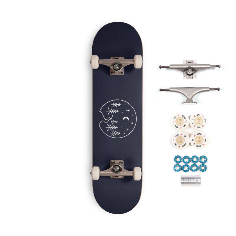 Alpine Night Accessories Skateboard by heavyhand's Artist Shop