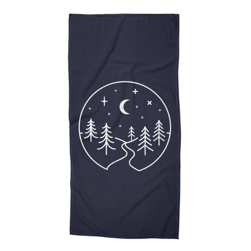 Alpine Night Accessories Beach Towel by heavyhand's Artist Shop