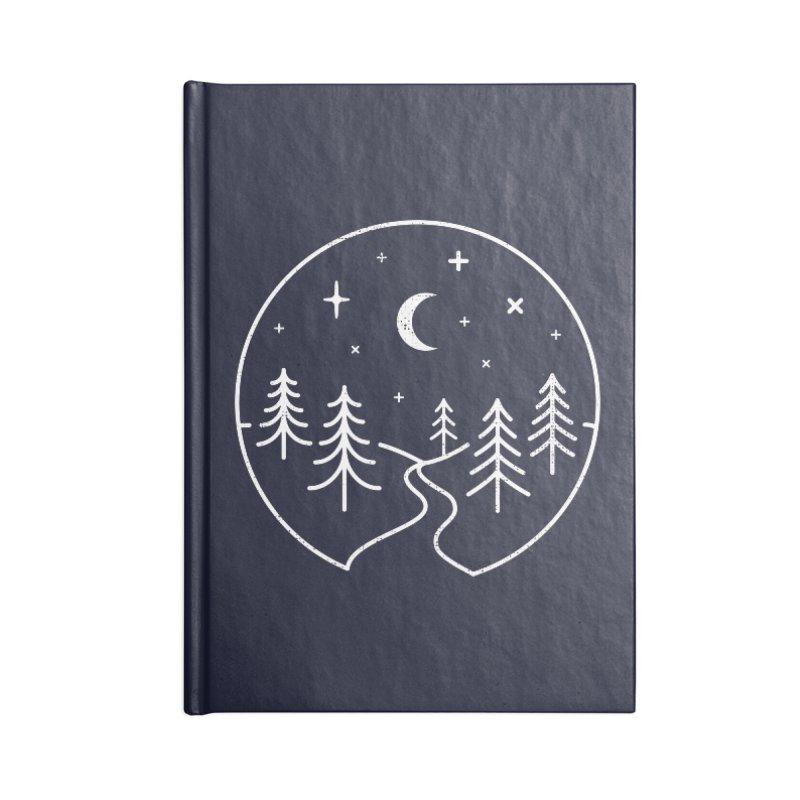 Alpine Night Accessories Notebook by heavyhand's Artist Shop