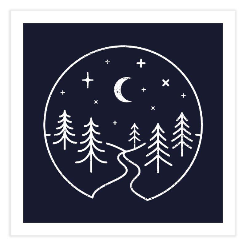 Alpine Night Home Fine Art Print by heavyhand's Artist Shop
