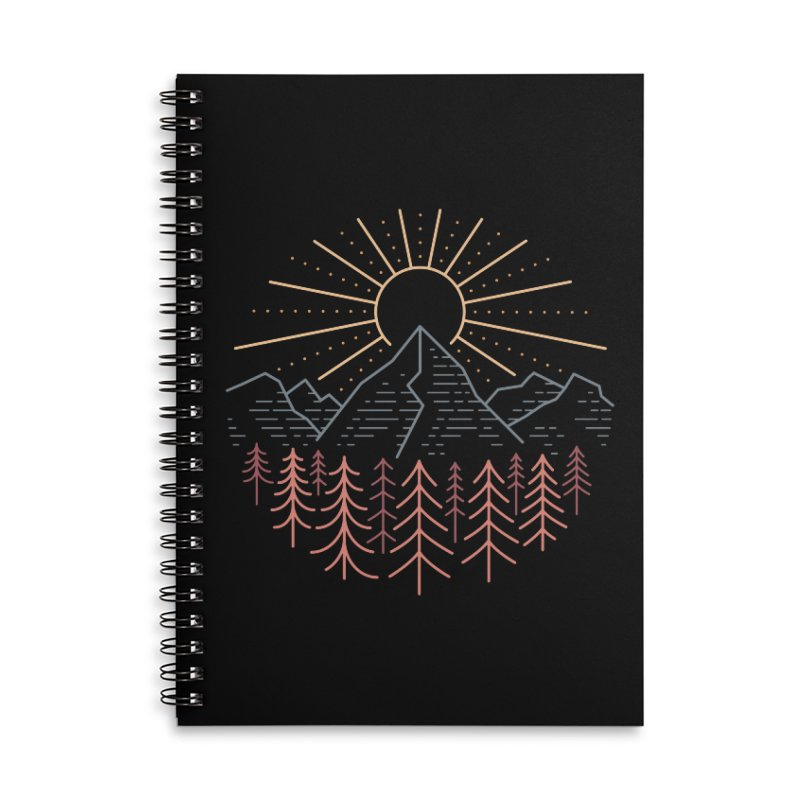 Mountain High Accessories Notebook by heavyhand's Artist Shop