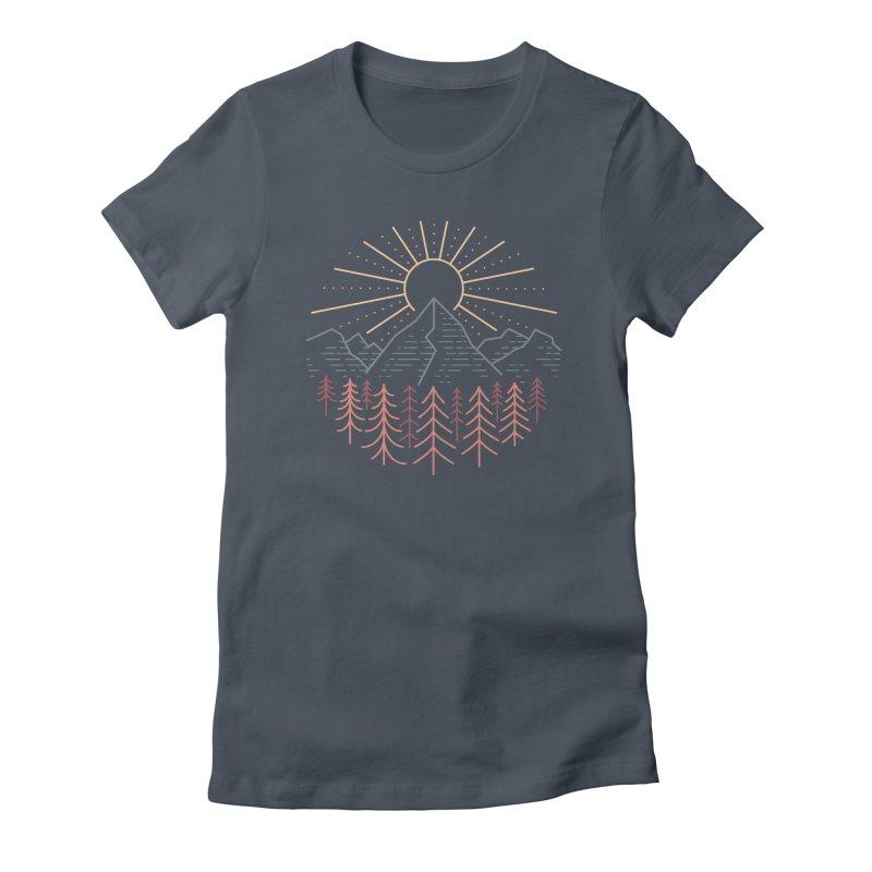 Mountain High Women's T-Shirt by heavyhand's Artist Shop