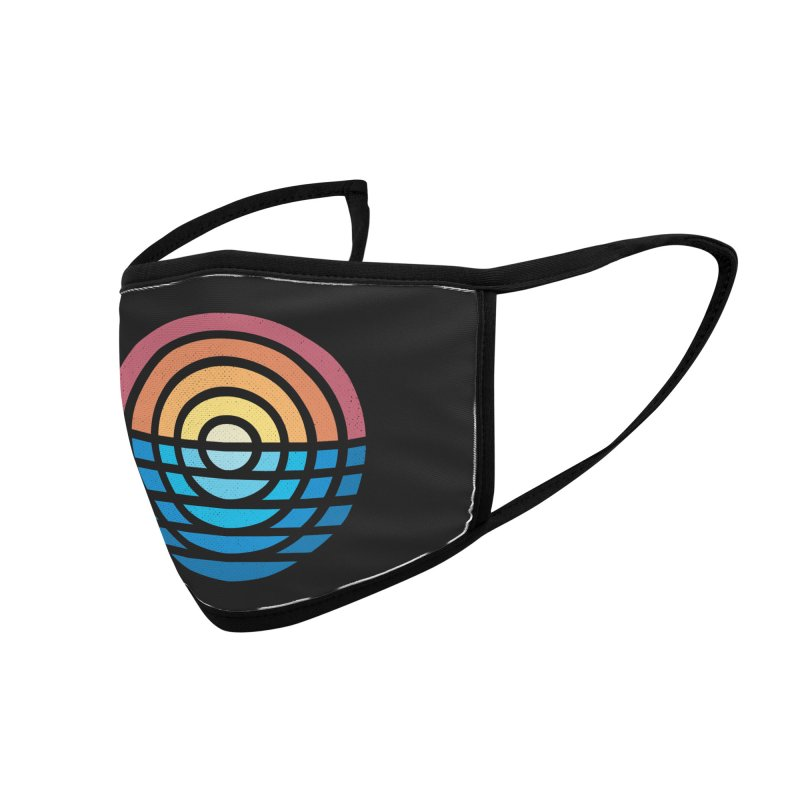Sunrise Accessories Face Mask by heavyhand's Artist Shop