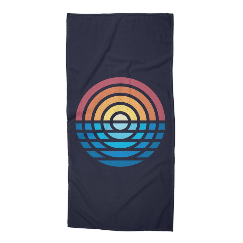 Sunrise Accessories Beach Towel by heavyhand's Artist Shop