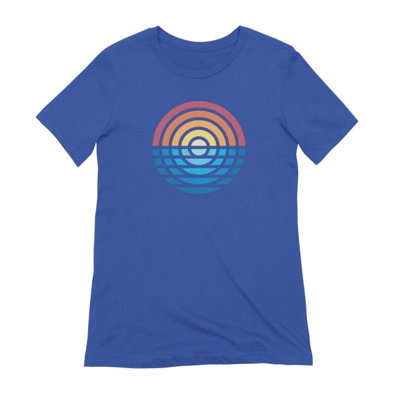 Sunrise Women's T-Shirt by heavyhand's Artist Shop