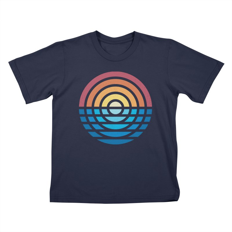 Sunrise Kids T-Shirt by heavyhand's Artist Shop