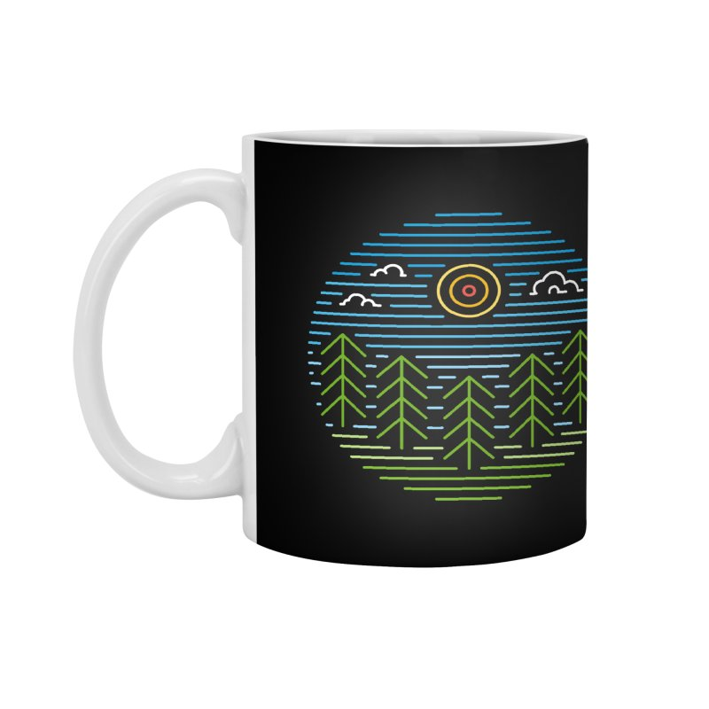 Linear Woods Accessories Mug by heavyhand's Artist Shop