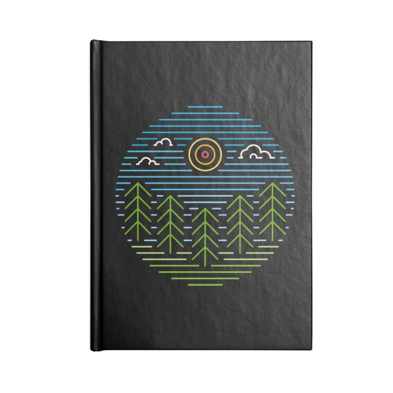Linear Woods Accessories Notebook by heavyhand's Artist Shop