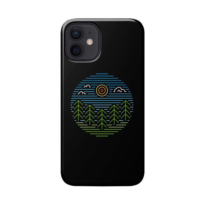 Linear Woods Accessories Phone Case by heavyhand's Artist Shop
