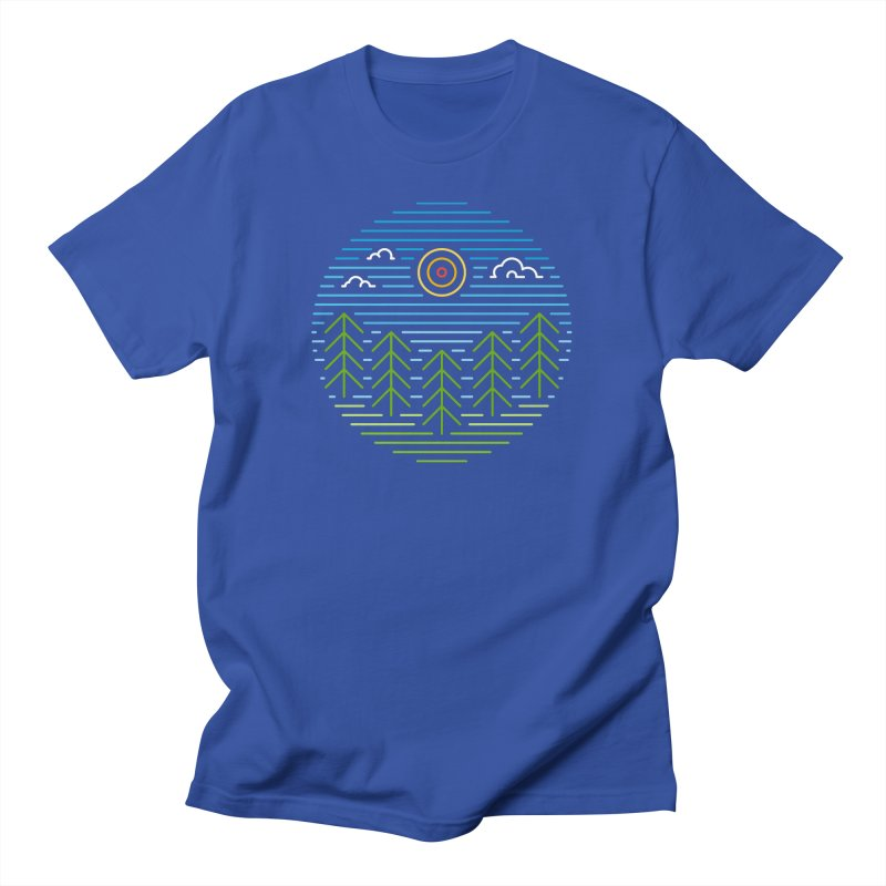 Linear Woods Men's T-Shirt by heavyhand's Artist Shop