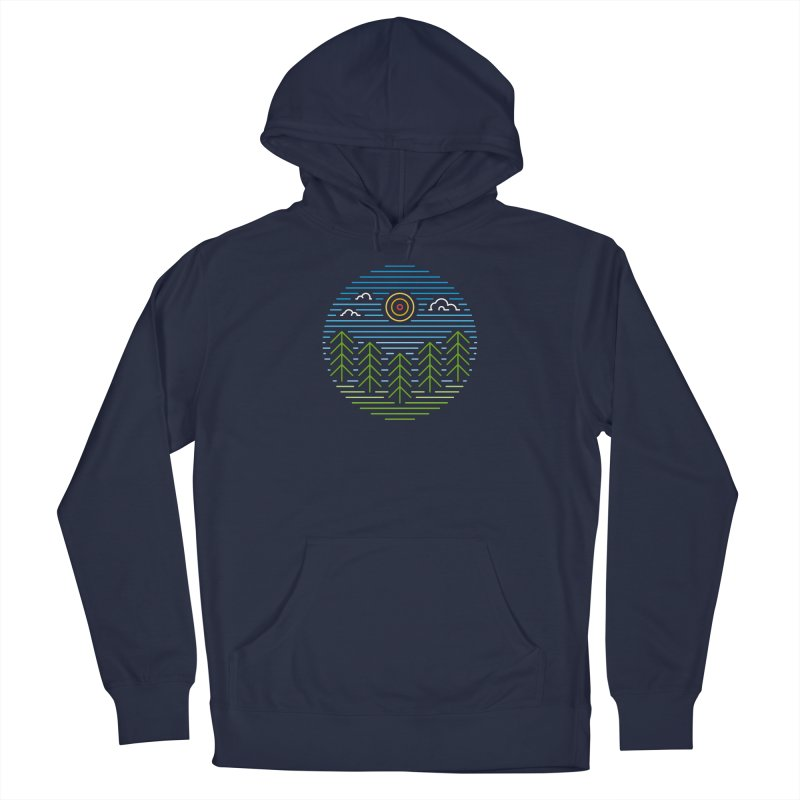 Linear Woods Women's Pullover Hoody by heavyhand's Artist Shop
