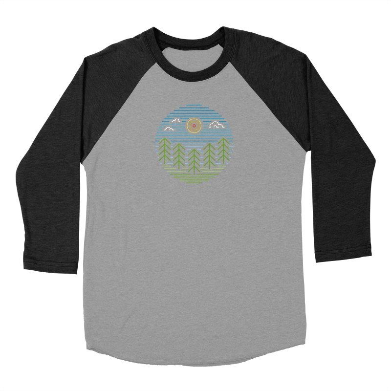 Linear Woods Women's Longsleeve T-Shirt by heavyhand's Artist Shop