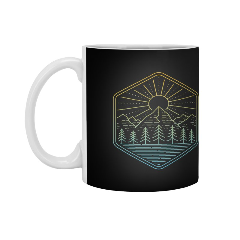Mountain Rays Accessories Mug by heavyhand's Artist Shop