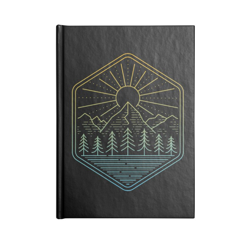 Mountain Rays Accessories Notebook by heavyhand's Artist Shop