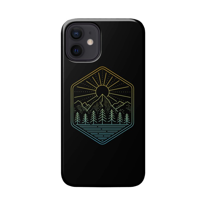 Mountain Rays Accessories Phone Case by heavyhand's Artist Shop