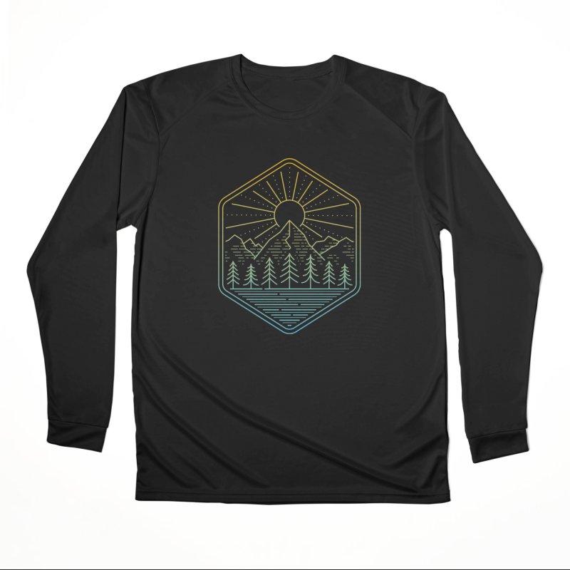 Mountain Rays Women's Longsleeve T-Shirt by heavyhand's Artist Shop
