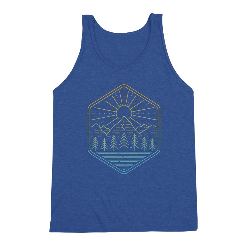 Mountain Rays Men's Tank by heavyhand's Artist Shop