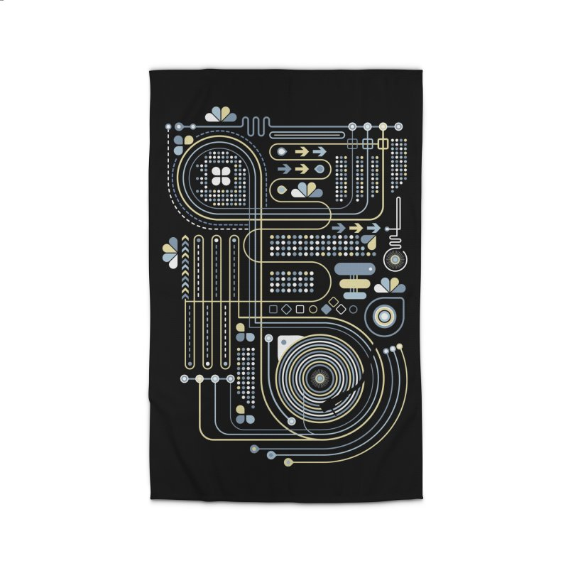 Circuit 02 Home Rug by heavyhand's Artist Shop