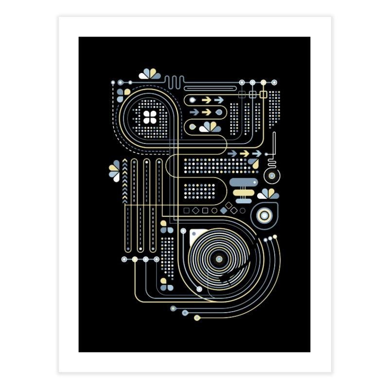 Circuit 02 Home Fine Art Print by heavyhand's Artist Shop