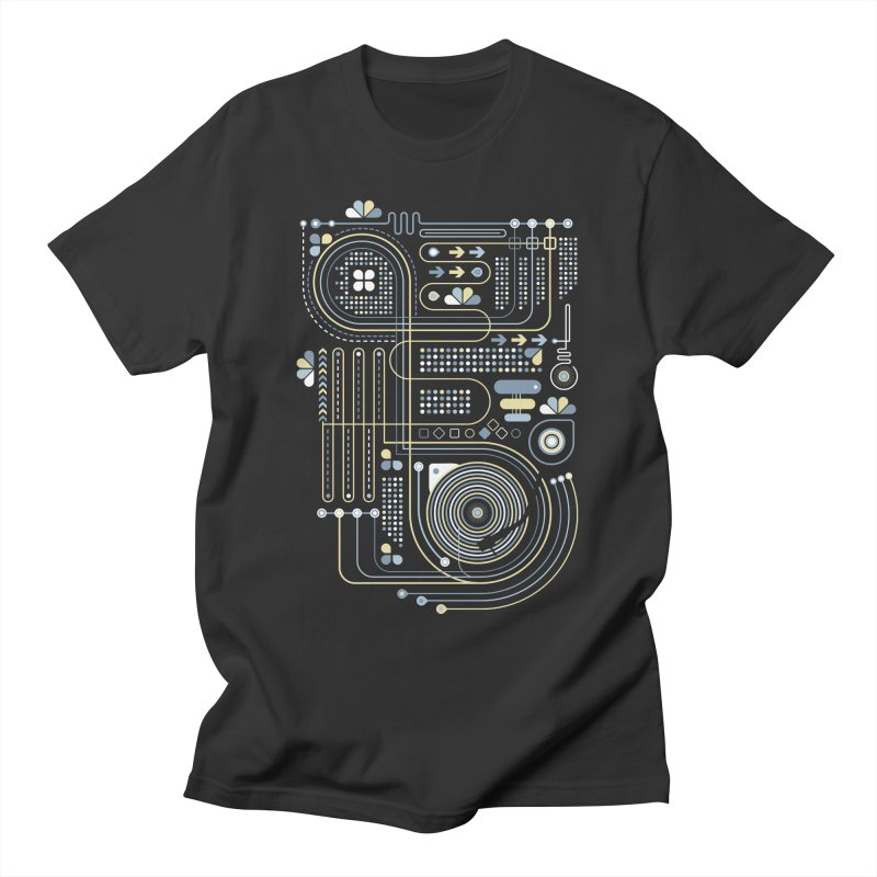 Circuit 02 Men's T-Shirt by heavyhand's Artist Shop