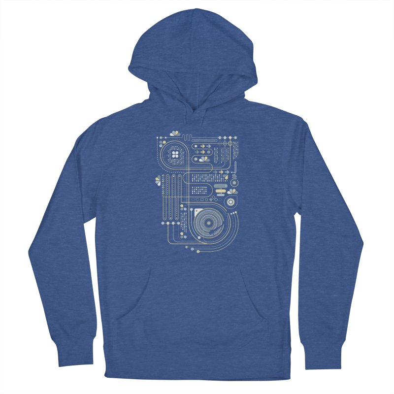Circuit 02 Women's Pullover Hoody by heavyhand's Artist Shop