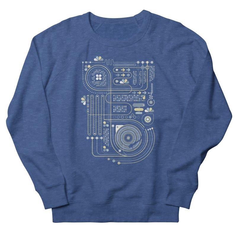 Circuit 02 Men's Sweatshirt by heavyhand's Artist Shop