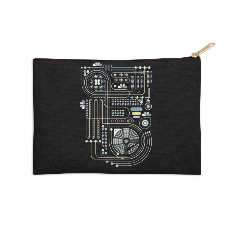 Circuit 02 Accessories Zip Pouch by heavyhand's Artist Shop