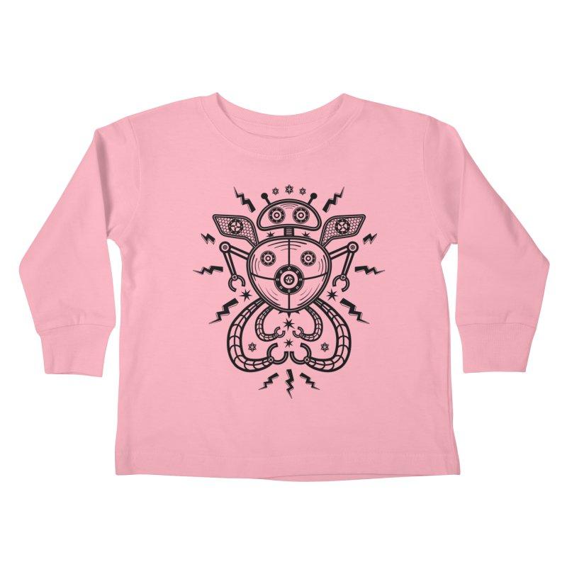 Star Catcher 2000 Kids Toddler Longsleeve T-Shirt by heavyhand's Artist Shop