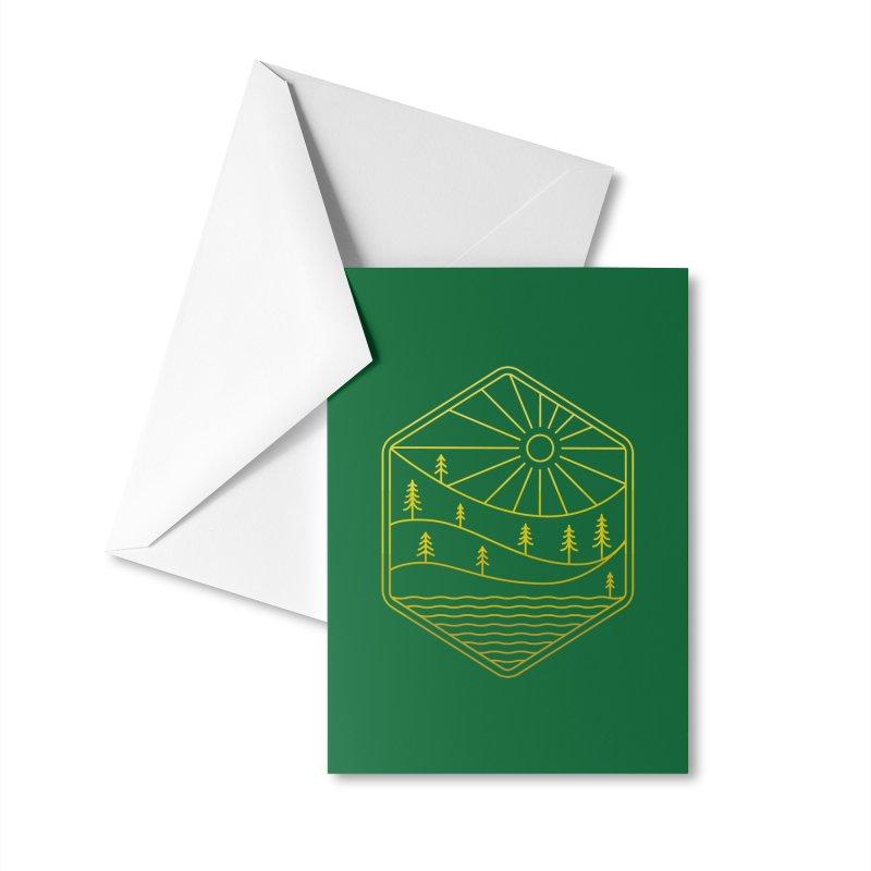 Hinterland Accessories Greeting Card by heavyhand's Artist Shop