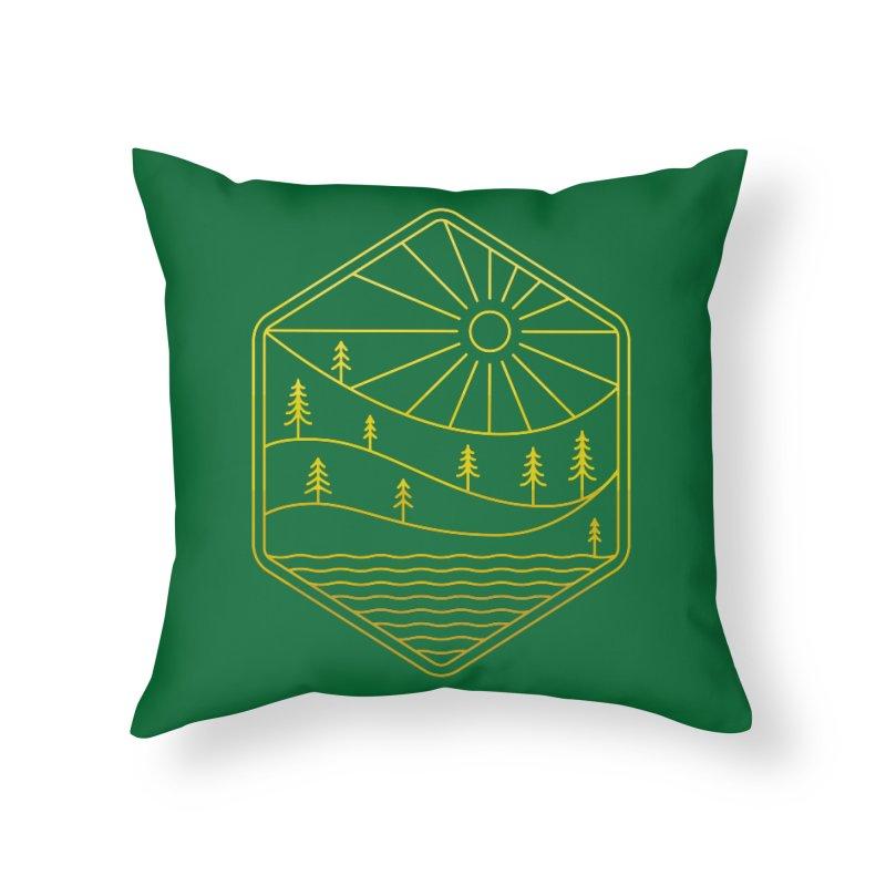Hinterland Home Throw Pillow by heavyhand's Artist Shop
