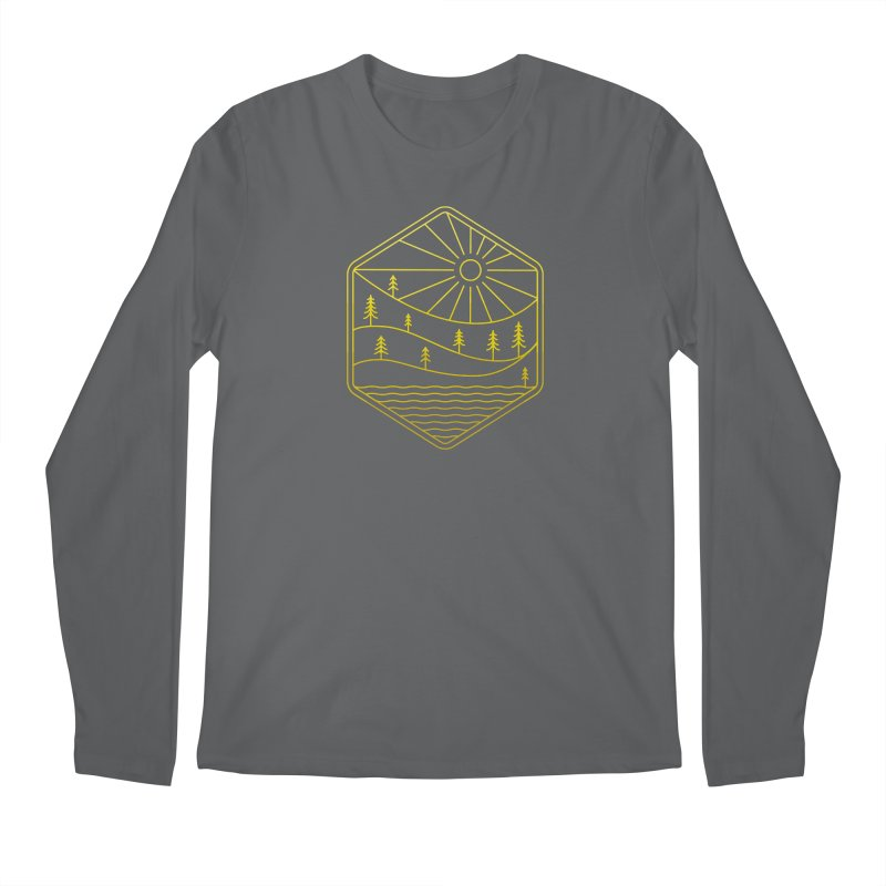 Hinterland Men's Longsleeve T-Shirt by heavyhand's Artist Shop