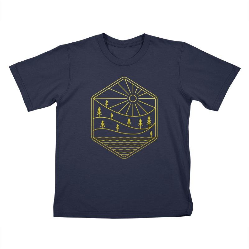 Hinterland Kids T-Shirt by heavyhand's Artist Shop