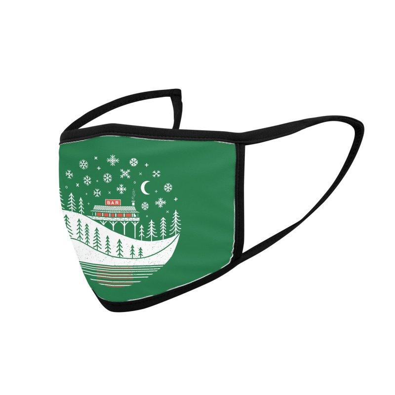Winter Wonderland Accessories Face Mask by heavyhand's Artist Shop