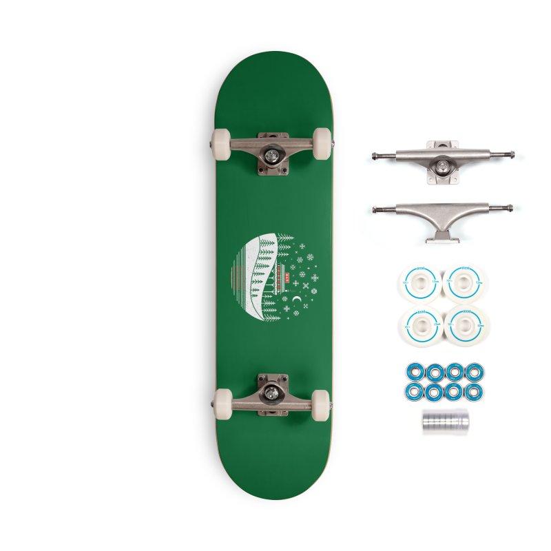 Winter Wonderland Accessories Skateboard by heavyhand's Artist Shop