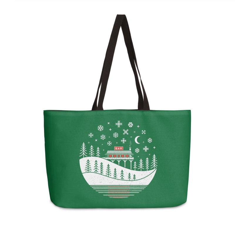 Winter Wonderland Accessories Bag by heavyhand's Artist Shop