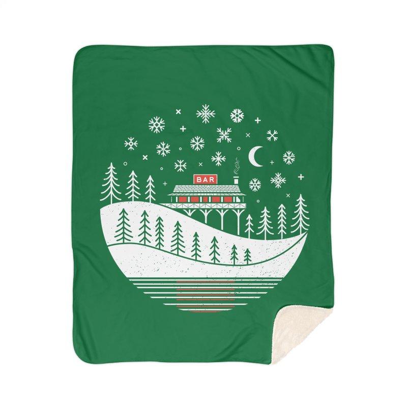 Winter Wonderland Home Blanket by heavyhand's Artist Shop
