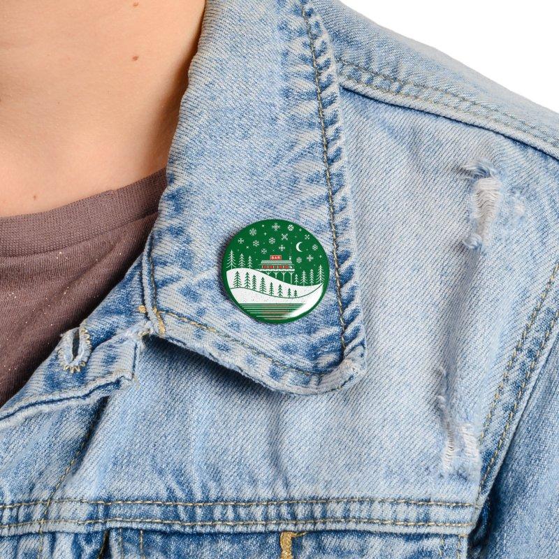 Winter Wonderland Accessories Button by heavyhand's Artist Shop