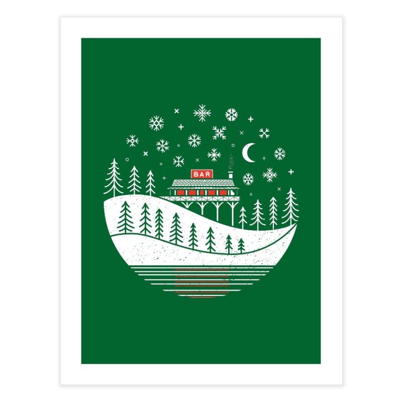 Winter Wonderland Home Fine Art Print by heavyhand's Artist Shop