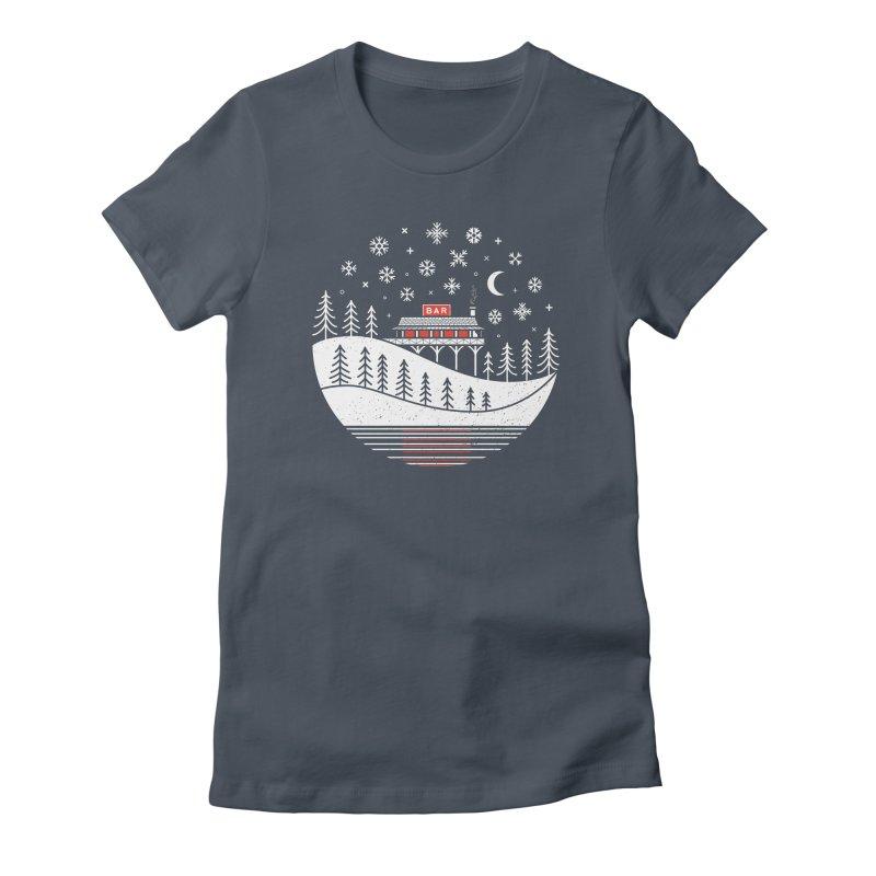 Winter Wonderland Women's T-Shirt by heavyhand's Artist Shop