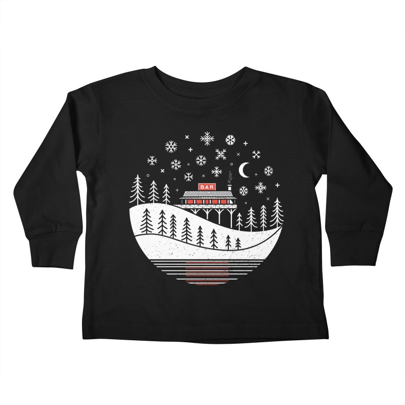 Winter Wonderland Kids Toddler Longsleeve T-Shirt by heavyhand's Artist Shop