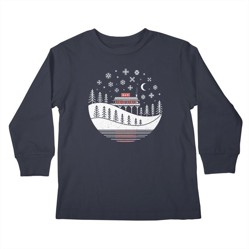 Winter Wonderland Kids Longsleeve T-Shirt by heavyhand's Artist Shop