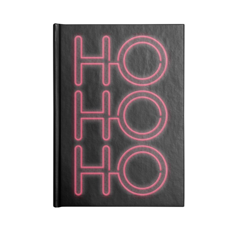 Ho Ho Ho Accessories Notebook by heavyhand's Artist Shop