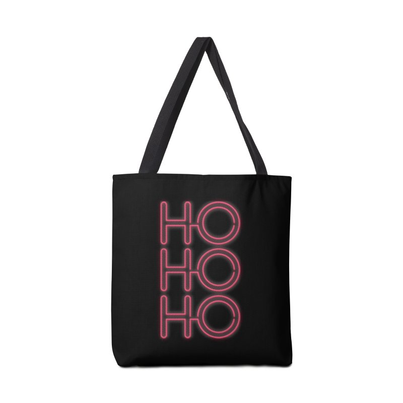 Ho Ho Ho Accessories Bag by heavyhand's Artist Shop