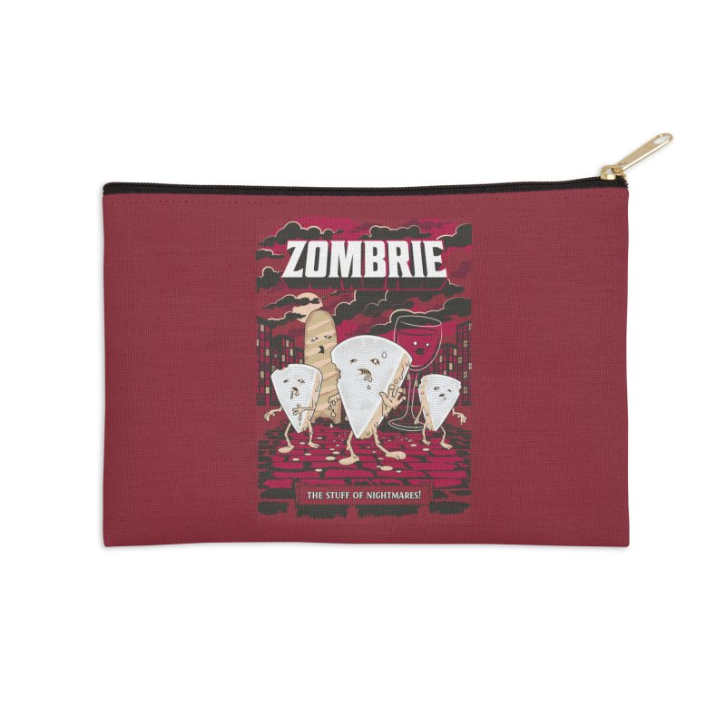 Zombrie Accessories Zip Pouch by heavyhand's Artist Shop