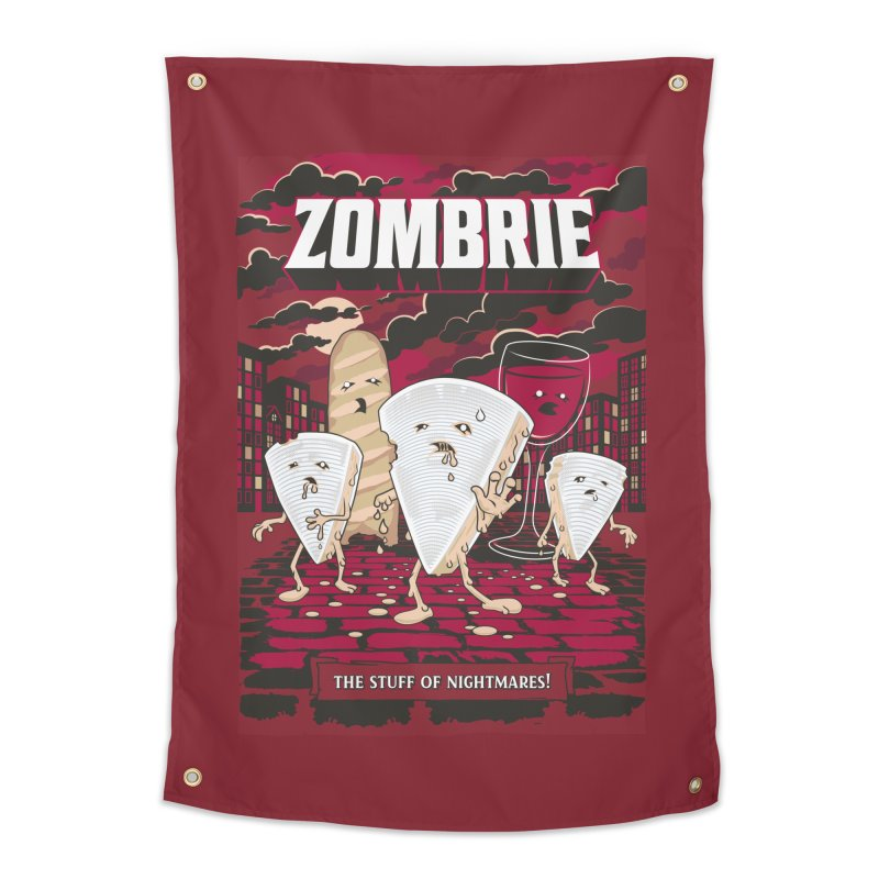 Zombrie Home Tapestry by heavyhand's Artist Shop