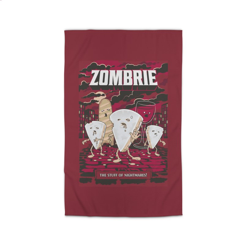 Zombrie Home Rug by heavyhand's Artist Shop