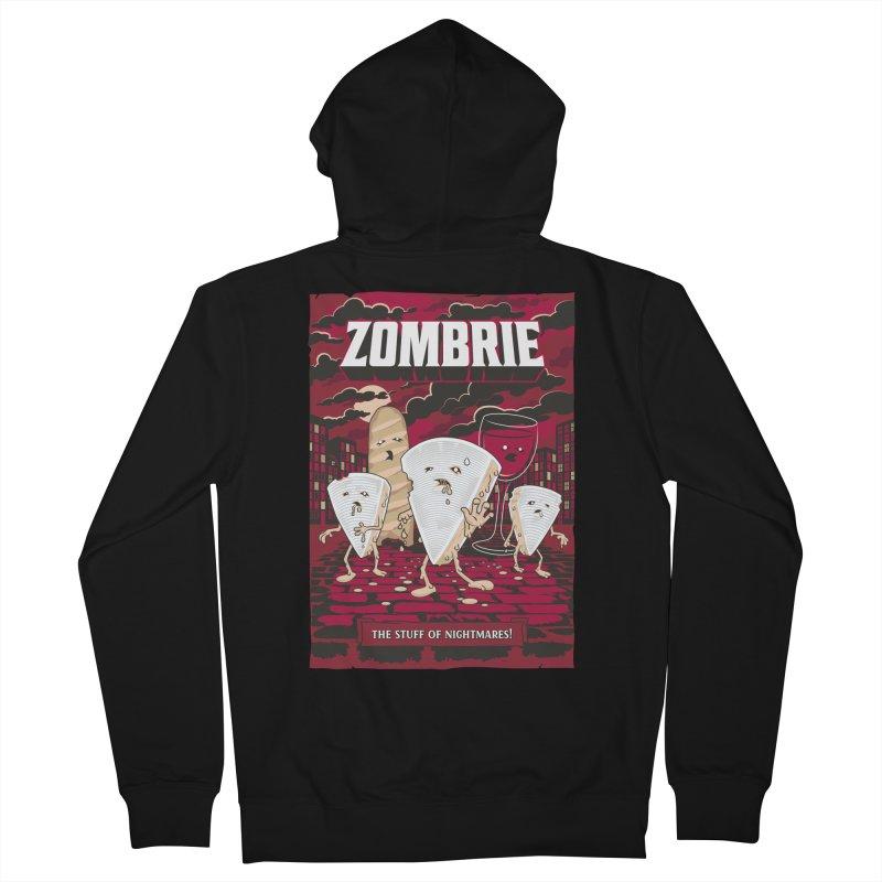 Zombrie Men's Zip-Up Hoody by heavyhand's Artist Shop