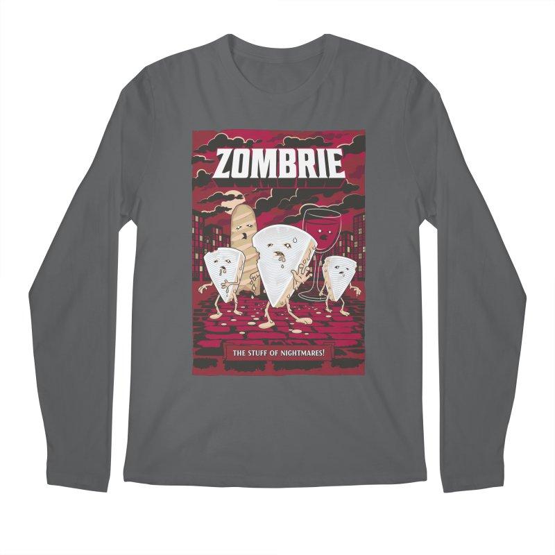 Zombrie Men's Longsleeve T-Shirt by heavyhand's Artist Shop